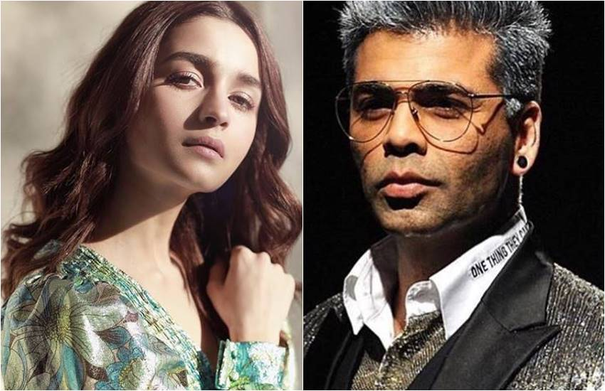 Alia Bhatt, alia bhatt comment on karan johar, alia bhatt in Kalank Producered by karan johar, karan johar react and then cried in front of public, karan johar cried because of alia bhatt, entertainment new, bollywood news, television news