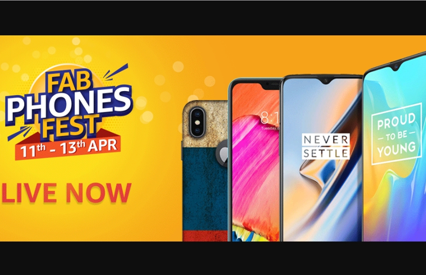 oneplus 6t, iphone xr, samsung galaxy s9, realme u1, redmi 6 pro, 6a, discounts offers, amazon fab phones fest sale, amazon fab phones fest sale, fab phones fest, amazon sale, oneplus 6t, realme u1, redmi 6 pro, redmi 6a, honor view 20, huawei y9, iphone x, samsung galaxy s9, amazon