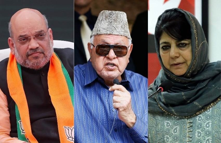 Jammu and Kashmir, Farooq Abdullah, NC, Mehbooba Mufti, PDP, BJP, Manifesto, Article 370, Article 35A, Amit Shah, State News, National News, 2019 Elections News, Hindi News