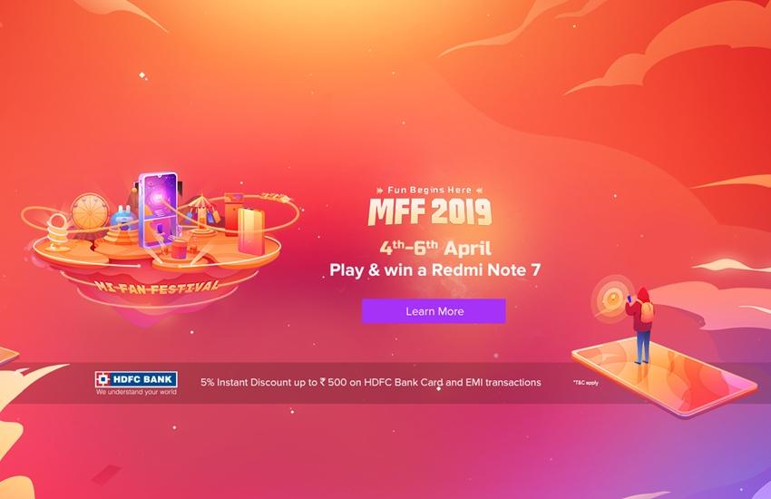 Mi Fan Festival 2019, Redmi Note 7 Pro, POCO F1, Mi LED TV 4A PRO, Redmi 6, Redmi 6 Pro, Redmi note 6 pro, www.mi.com, redmi rs. 1 sale, redmi mi sale, xiaomi sale,