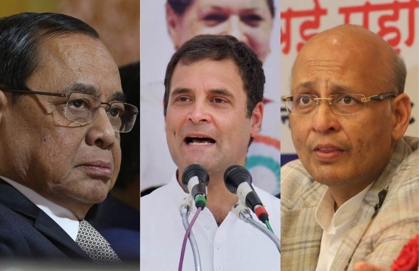 Loksabha Elections 2019, SC, Angry, Affadavit, Congress, Contempt Case, Rahul Gandhi, Lawyer, Abhishek Manu Singhvi, Sorry, New Delhi, State News, National News, Hindi News
