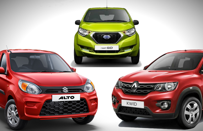 Best mileage cars under 3 lakh in India, maurti alto 800, renault kwid, datsun go, best cars under 3 lakh, best mileage cars in india