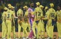 RR vs CSK IPL 2019: सैंटनर ने आखिरी गेंद पर छक्का जड़ चेन्नई को दिलाई रोमांचक जीत, धोनी ने लगाया जीत काशतक