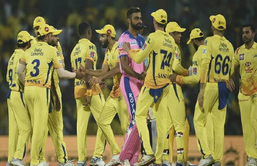 Chennai Super Kings, Rajasthan Royals, IPL 2019