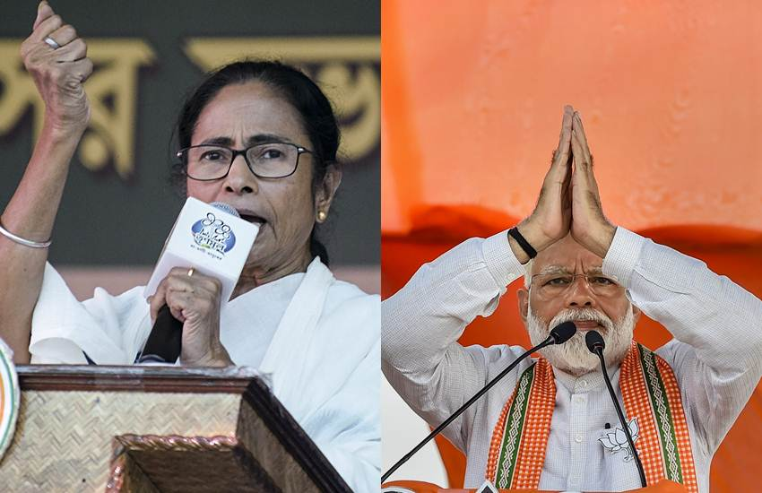 mamata banerjee vs narendra modi