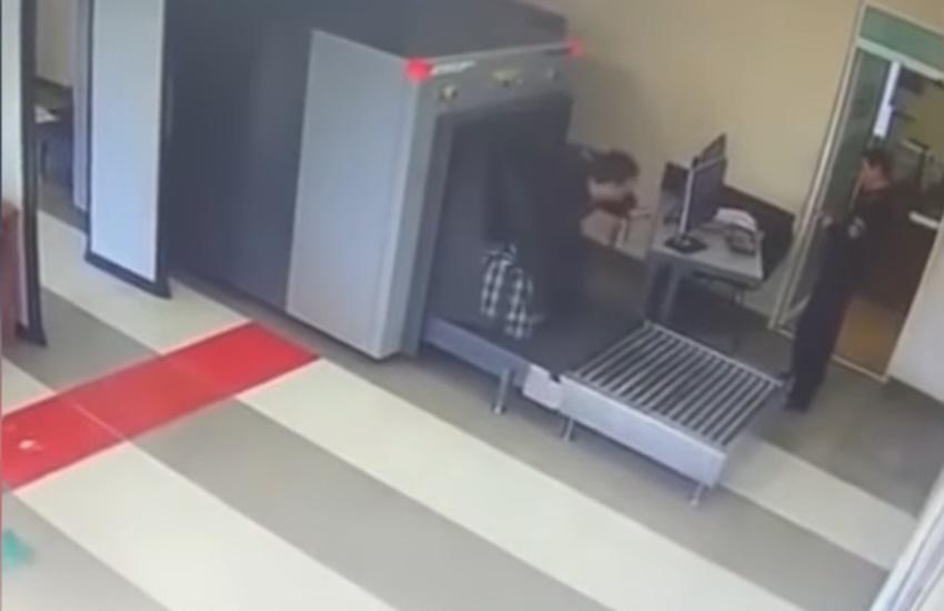 scanning machine, russia