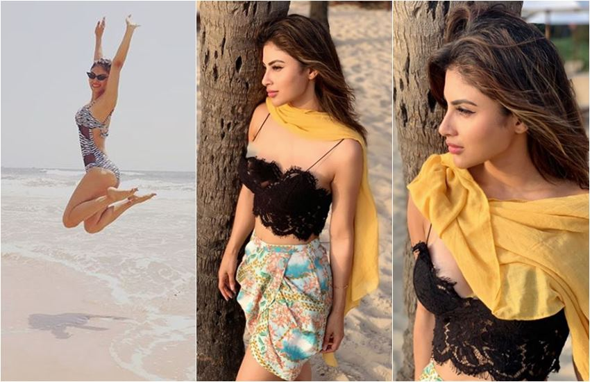 Mouni Roy super Hot Pictures, Mouni Roy swimming pictures, here are HD pictures of Popular TV actress, Mouni Roy Hot Pictures, HD PIctures Of Mouni Roy, entertainment news, bollywood news, television news, entertainment news