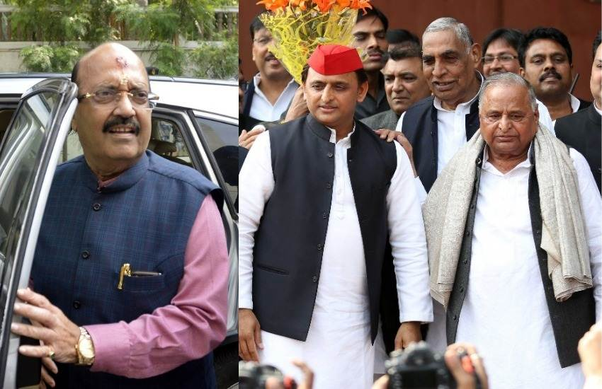 Loksabha Elections 2019, Amar Singh, Rajyasabha MP, Mulayam Singh Yadav, Weep, Alone, Father, Son, SP, Akilesh Yadav, Rampur, Azam Khan, Jaya Prada, Narendra Modi, PM, BJP, Rabri Devi, RJD, Mamata Banarjee, CM, West Bengal, TMC, New Delhi, Elections News, India News, Hindi News