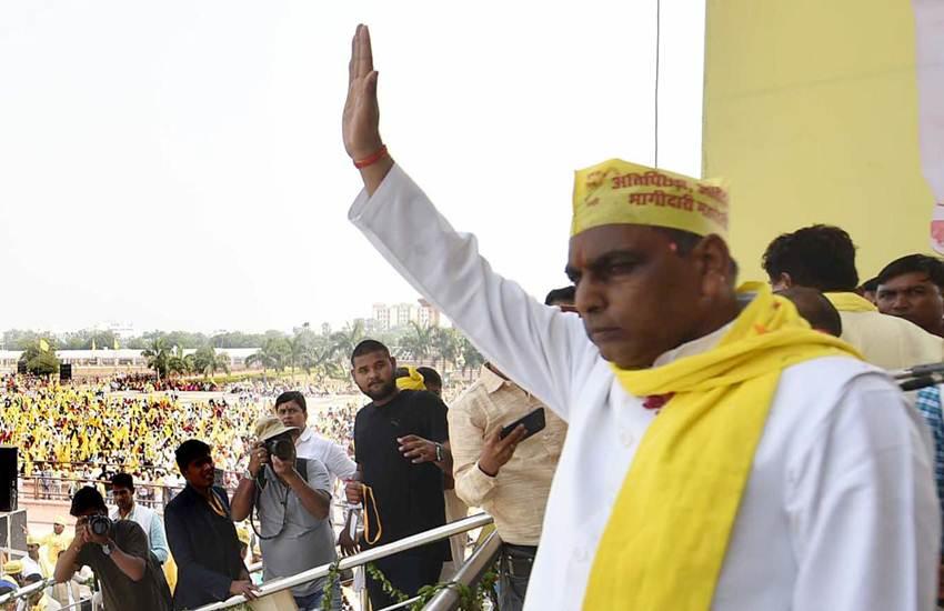 Loksabha election 2019, Loksabha election seventh phase, SBSP chief omprakash rajbhar, om prakash rajbhar supports congress and sp bsp alliance, rajbhar quits NDA, purvanchal loksabha seats, UP, State News, Elections News, Hindi News