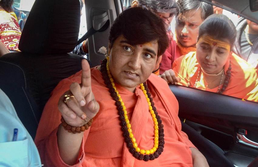 Loksabha Elections 2019, Pragya Singh Thakur, Sadhvi Pragya, BJP, Bhopal, MP, EC, Bars, Campaigning, 3 Days, Babri Mosque, Statement, Hemant Karkare, 26/11 Mumbai Terror Attacks, 2008 Malegaon Blast Case, India News, National News, Hindi News