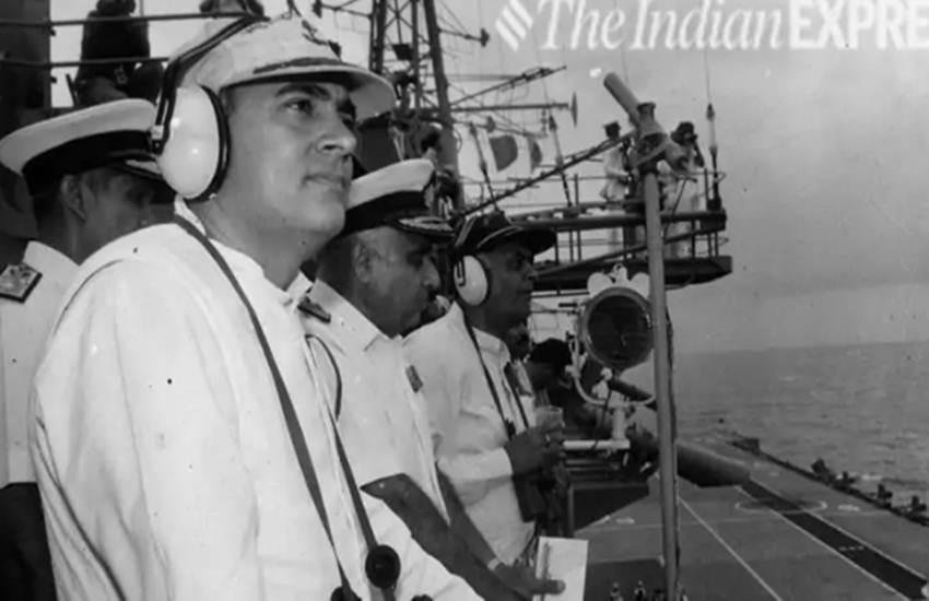 Loksabha Elections 2019, Rajiv Gandhi, Sonia Gandhi, Party, Picnic, INS Viraat, Claim, Narendra Modi, BJP, Senior Navy Officers, Vinod Pasricha, Admiral Laxminarayan Ramdas, Elections News, India News, Hindi News