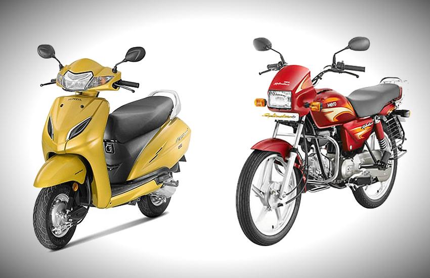 Honda Activa BeatsHero Splendor, Honda Activa price, Honda Activa sales, Hero Splendor sales this FY, two wheeler sales this year