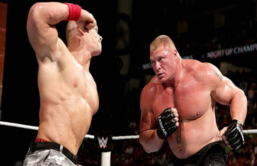 John cena,WWE,Brock Lesnar