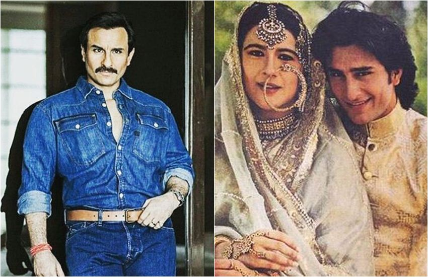 Saif Ali Khan, Amrita Singh, Amrita Singh Saif Ali Khan Divorce, Saif Ali Khan and Amrita Singh, Saif Ali Khan Kareena kapoor Khan, Saif Ali Khan Taimur Ali khan