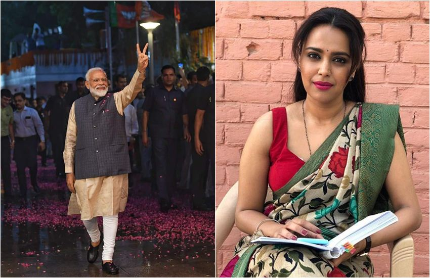 chunav, chunav result, chunav result 2019, lok sabha chunav result, lok sabha chunav result 2019, lok sabha election results 2019, election results 2019, election results 2019, Swara Bhaskar, Swara Bhaskar Tweet, Swara Bhaskar Trolled, Swara Bhaskar BJP