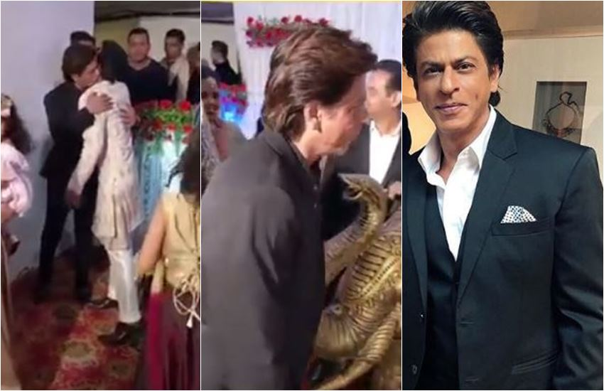 Shahrukh Khan, SRK, Shahrukh Khan reached to makeup man sister wedding, Shahrukh khan gave his make up man a surprise visit, Shahrukh Khan is unbelievable, entertainment news, bollywood news, television news