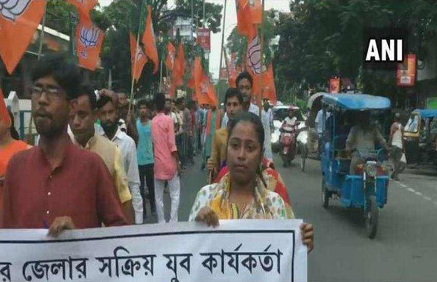 West Bengal, BJP, TMC, Fight, 'Party Worker', Ananda Paul, Murder, Deadbody, Allegation, Mamata Banerjee, West Bengal News, State News, India News, National News, Hindi News