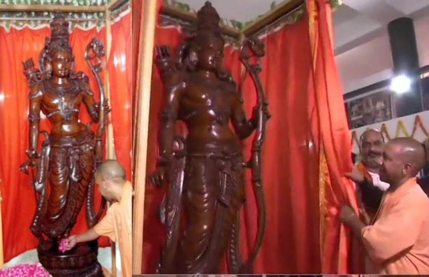 Shri Ram, Lord Ram, Ram Statue, Ram Idol in Ayodhya, Kodamb Ram, Wooden Ram Statue, Ayodhya Shodh Sansthan, Ayodhya, UP, Uttar Pradesh, Yogi Adityanath, CM, BJP, Shri Ram News, Ayodhya News, UP News, State News, India News, National News, Hindi News