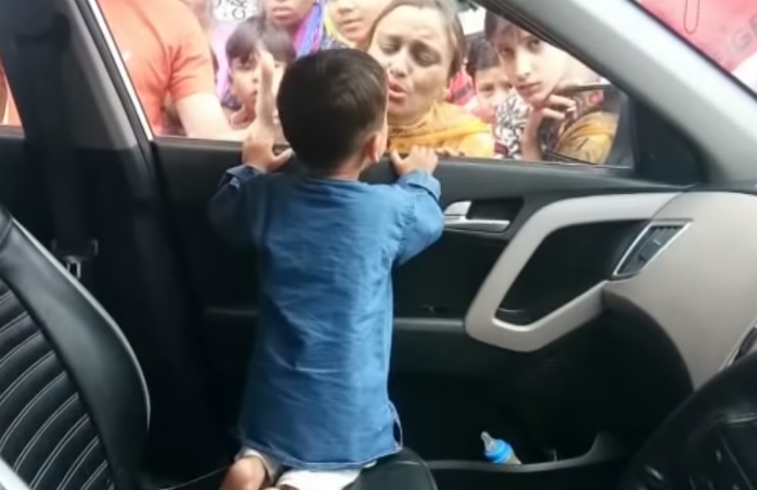 child gets locked in car, kid gets locked in car, died in locked car, man died in locked car, death due to locked car ac, video, shocking video
