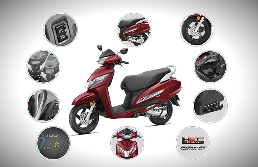 2019 Honda Activa BS6 price, 2019 Honda Activa BS6 new features, 2019 Honda Activa warranty, 2019 Honda Activa BS6 mileage
