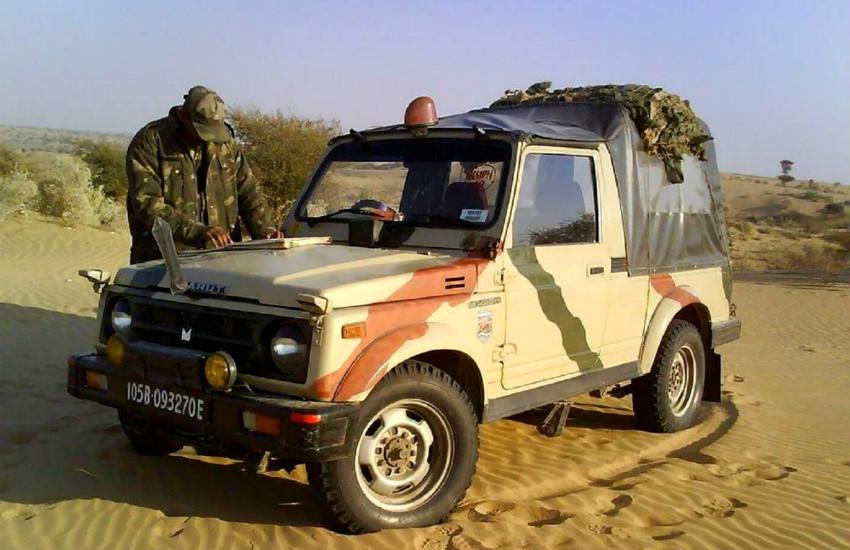 Maruti Suzuki Gypsy indian army, indian army vehicle, why indian army use Maruti Suzuki Gypsy, Maruti Suzuki Gypsy price, Maruti Suzuki Gypsy features