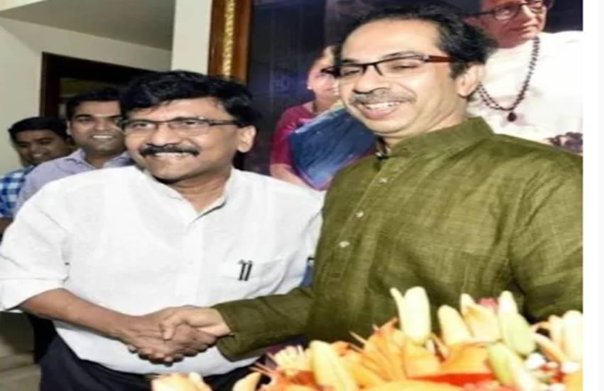 sanjay raut and uddhav thackeray