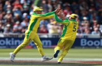 England – 156/5 (34), Australia vs England Live Cricket Score Streaming Online: ऑस्ट्रेलिया ने इंग्लैंड को 64 रनों सेहराया