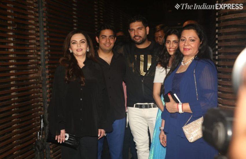 युवराज सिंह की रिटायरमेंट पार्टी में उतरे सितारे, एक्स गर्लफ्रेंड ने इस अंदाज में दर्ज कराई मौजूदगी