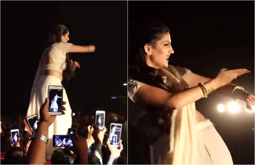 Sapna Choudhary, Sapna Choudhary Fans goes Crazy, Sapna Choudhary as Desi Queen, Sapna Choudhary Came For Dance on Live Stage Performance, Entertainment news, Bollywood news, Television News, entertainment news