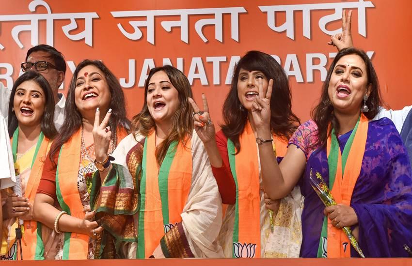 West Bengal, BJP, Bengal, Bengali Stars, Bengali TV Celebs, Kolkata, New Delhi, BJP, Sambit Patra, Dilip Ghosh, Mamata Banerjee, TMC, WB CM, Mimi Chakraborty, Nusrat Jahan Ruhi Jain, State News, National News, Hindi News