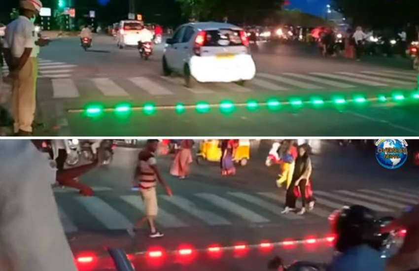 LED traffic lights in Hyderabad, video, Hyderabad traffic police, new traffic rules, new traffic rules fine, traffic signal rules in india