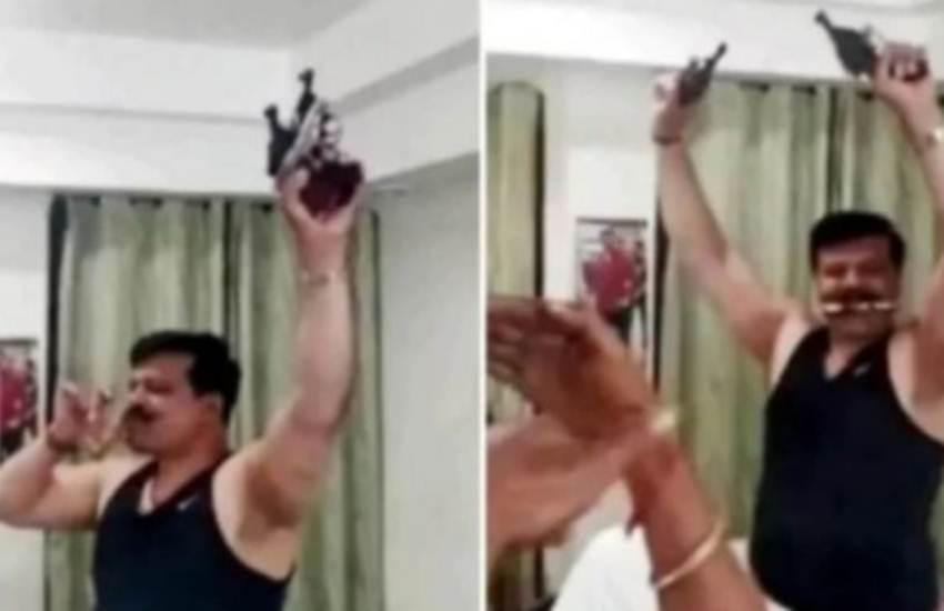 Kunwar Pranav Singh Champion, BJP Suspended MLA, Expelled, Six Years, Suspend, Brandishing Guns, Viral Video, State News, India News, National News, Hindi News