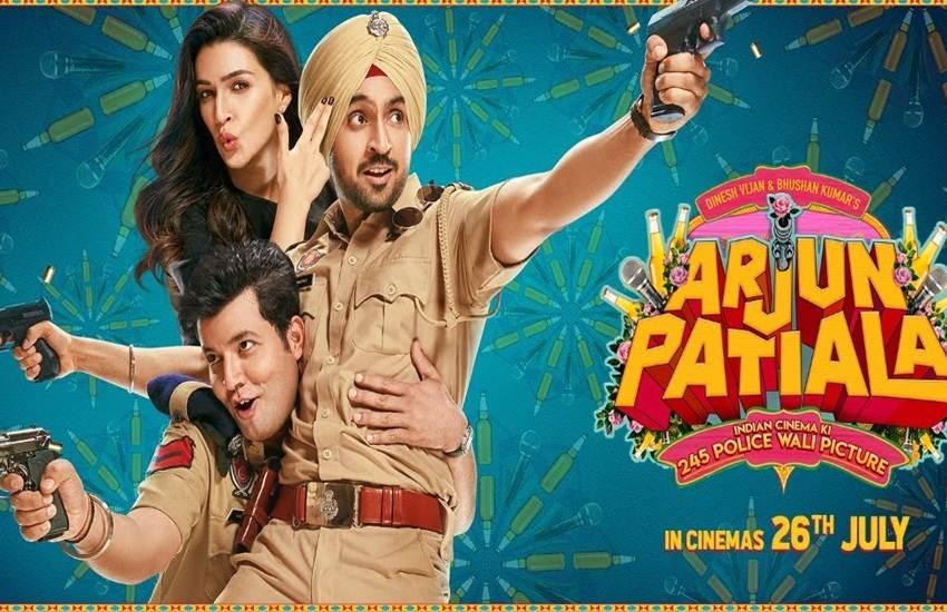 Arjun Patiala, Arjun Patiala movie review, Arjun Patiala review, Arjun Patiala film review, Arjun Patiala movie release, Arjun Patiala cast, Arjun Patiala movie rating, Arjun Patiala film rating, Arjun Patiala Film, Diljit Dosanjh and Kriti Sanon, Diljit Dosanjh, Kriti Sanon