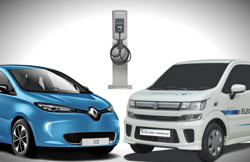 Electric Vehicle charging Stations, FAME 2 scheme in india, electric cars in india, hyundai kona electric, maruti suzuki wagonr electric