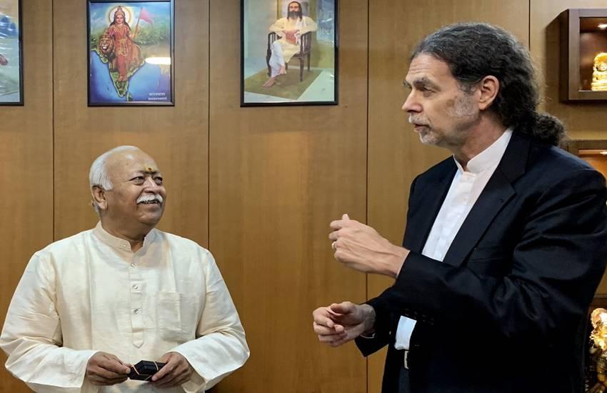 German Ambassador, Walter Lindner, India, RSS Sarsanghchalak, RSS Headquarter, Nagpur, metro project, Indian Mosaic, Mohan Bhagwat, india news, Hindi news, news in Hindi, latest news, today news in Hindi