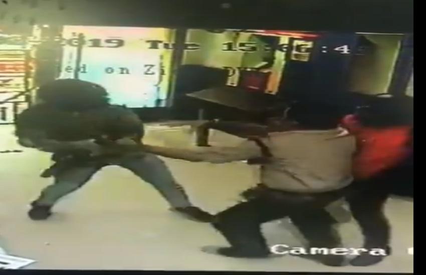 Delhi, Bank Robbery, Security Guard ,