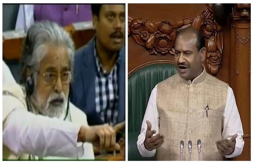 Lok sabha, Om Birla, TMC, Sudip Bandyopadhyay, mamata government, atushman bharat, modi, harshvardhan
