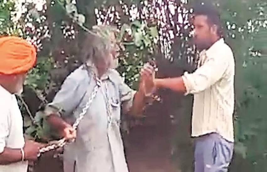 Punjab, Moga, 55-YEAR-OLD man, power theft complaint, Redwa village, raid on premises, viral video, FIR, Dharamkot police, Harbans Singh, PSPCL officials, india news, Hindi news, news in Hindi, latest news, today news in Hindi