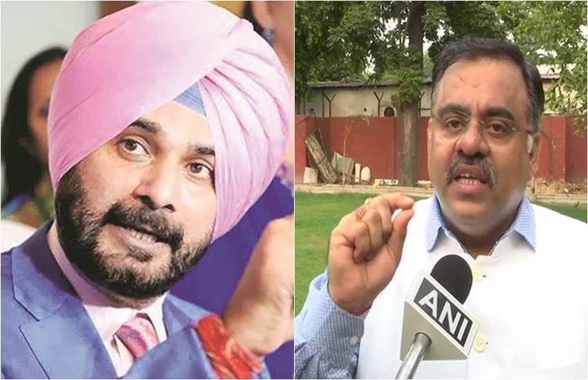 BJP leader, Tarun Chugh, Punjab Governor, VP Singh Badnore, Navjot Singh Sidhu, Energy ministry, Punjab government, Chandigarh, india news, Hindi news, news in Hindi, latest news, today news in Hindi