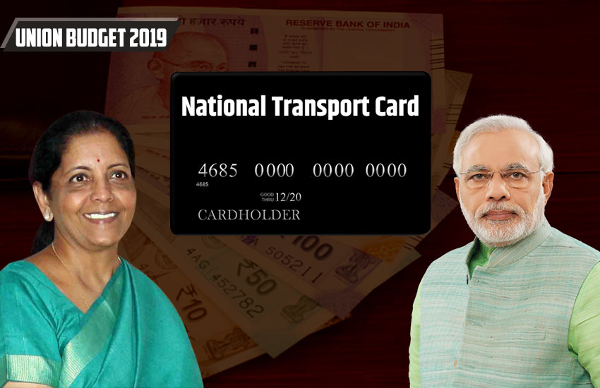 Union Budget 2019, National Transport Card, Nirmala Sitharaman, Narendra Modi Government, Travel Card, Shopping Card, Budget for common people, one nation one card, Driving License