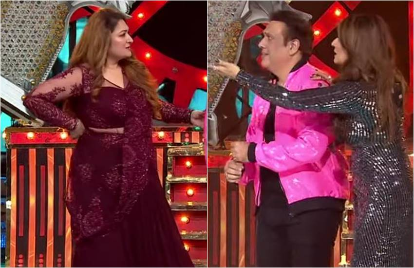 Nach Baliye Latest Update, Nach Baliye Latest Episode, Govinda In Nach Baliye, Govinda Danced With Raveena Tandon, RavEENA tANDON in Kurta Fadke Song Dancing, Govinda Wife Sunita, Sunita React On Govinda, hilarious video of Govinda , ENTERTAINMENT NEWS, BOLLYWOOD NEW,S TELEVISION NEWS