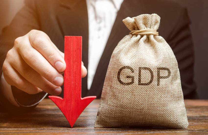 GDP, Indian GDP, Constant, Prices, 35.85 Lakh Crore, Growth Rate, BJP, NDA, PM, Narendra Modi, Central Government, Tight Shock, Indian Economy, GDP, Fall, 5 Percent, 5.8 Percent, Business News, National News, Hindi News