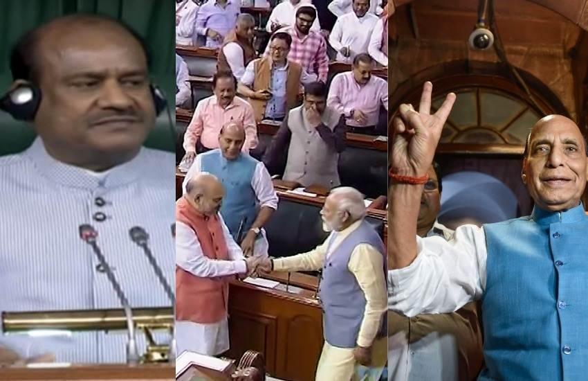 17th Loksabha, Lok Sabha, Om Birla, BJP, NDA, Most Productive Session, House, Adjourned, Narendra Modi, Amit Shah, Congress, Loksabha News, LSTV, New Delhi, National News, Hindi News, Jansatta News, लोकसभा, ओम बिरला, बीजेपी, एनडीए, नरेंद्र मोदी, अमित शाह, कांग्रेस, तीन तलाक बिल, जम्मू-कश्मीर पुनर्गठन बिल, 2019, हिंदी समाचार