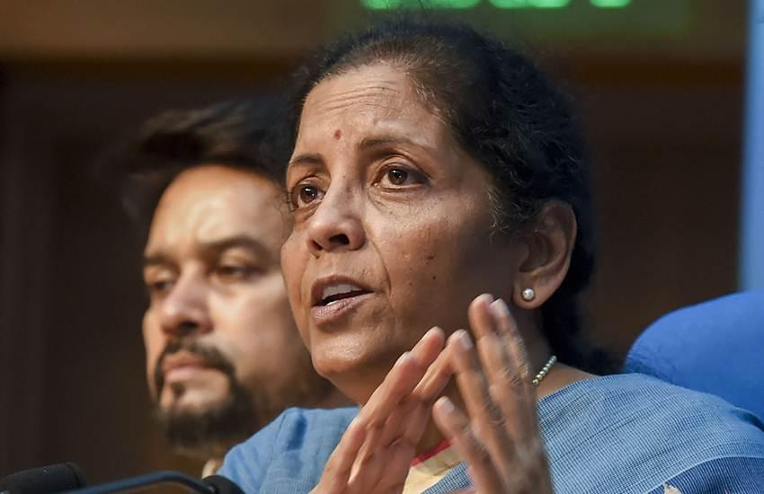Nirmala Sitharaman, Finance Minister, Press Conference, GDP, Economy, Indian Government, BJP, NDA, Narendra Modi, India, National News, Business News, India News, Hindi News, Latest News