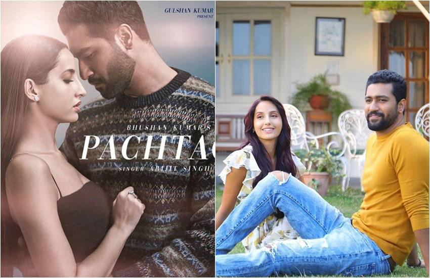 Nora Fatehi, Vicky Kaushal, Nora Fatehi New Song 2019, Arijit Singh Song by Pachtaoge, Pachtaoge by Jaani, B Praak, Pachtaoge Official Video Out, Vicky Kaushal and Nora Fatehi new Song 2019, Pachtaoge New Song 2019, entertainment news, Bollywood news, Television news