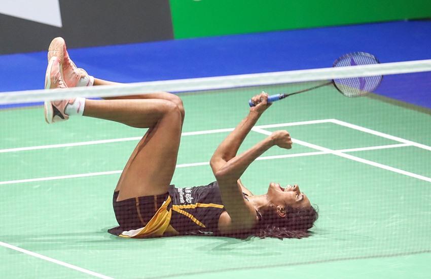 PV SINDHU world Championships