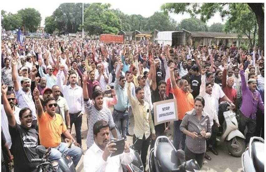 Ordnance Factory Board, OFB, corporatisation, modi government, Pune Ordnance Factory, Ammunition Factory, Khadki, labour union
