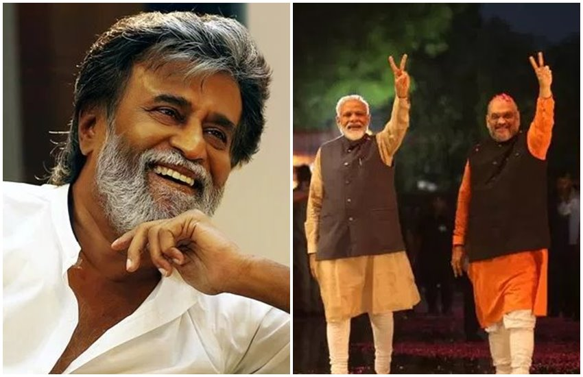 rajinikanth, amit shah, pm modi, article 370