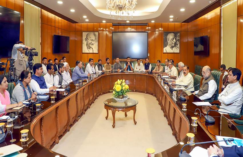 Jammu and Kashmir, JK, Panch, Sarpanch, Valley, Police Security, Insurance Cover, Home Minister, BJP, Amit Shah, New Delhi, Meeting, JK, State News, Hindi News