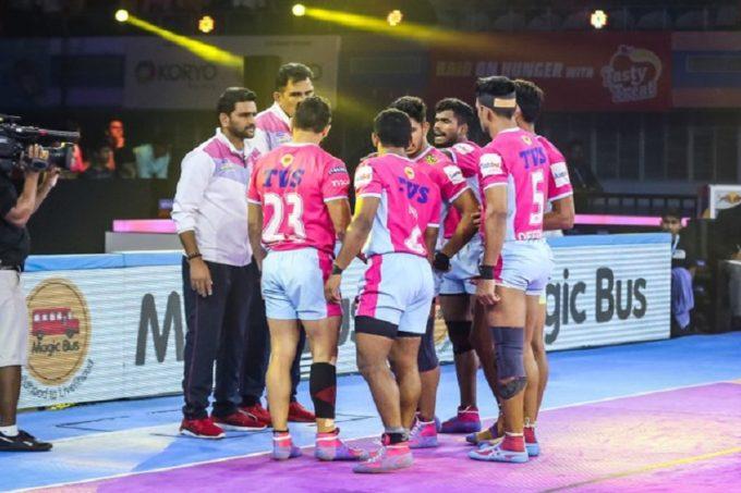 VIVO Pro Kabaddi 2019 Live Score Streaming, Jaipur Pink Panthers vs UP Yoddhas Live Score: यूपी ने दिखाया दम, जयपुर को मिलीहार